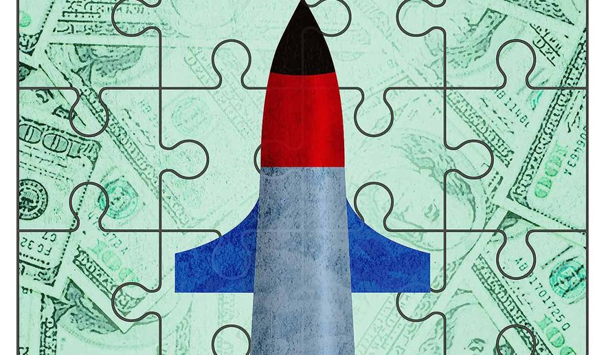 Defense Industry and Vertical Merger Illustration by Greg Groesch/The Washington Times