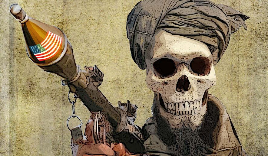 Jihad Resurgence and Taliban in Afghanistan Illustration by Greg Groesch/The Washington Times