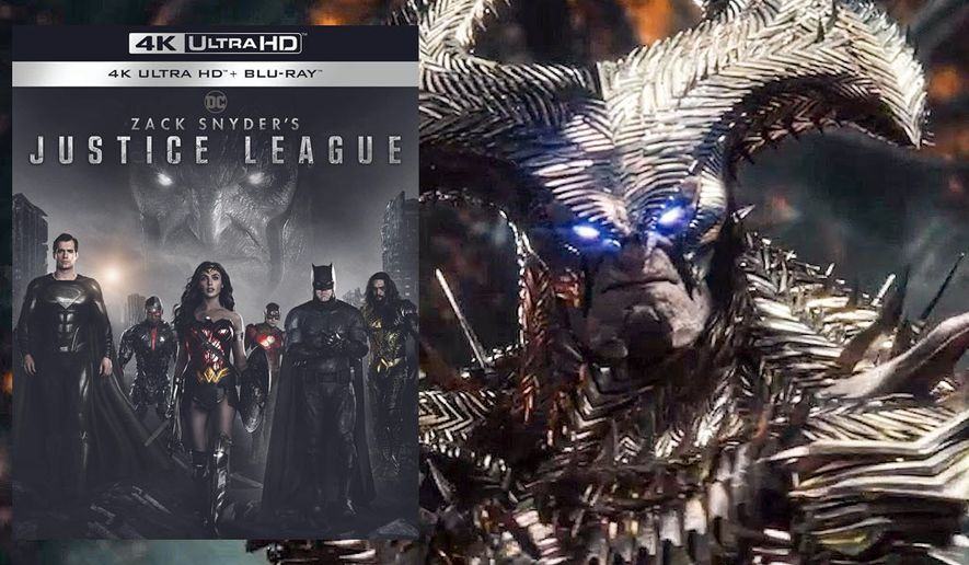 """Steppenwolf's armor gets an upgrade in Zack Snyder's Justice League,"""" now available in the 4K Ultra HD format from Warner Bros. Home Entertainment."""