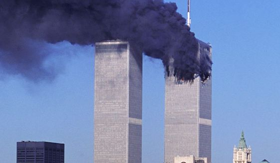 The 9/11 attack on the World Trade Center   (Associated Press photo)