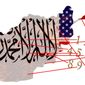 Illustration on 10 reasons for Afghanistan's fall to the Taliban by Alexander Hunter/The Washington Times