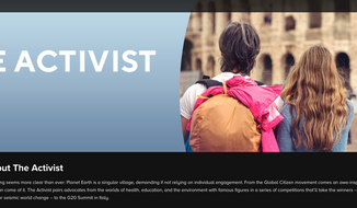 """Screen capture from the official website for a forthcoming CBS network reality show, """"The Activist."""" [https://www.cbs.com/shows/the-activist/about/]"""
