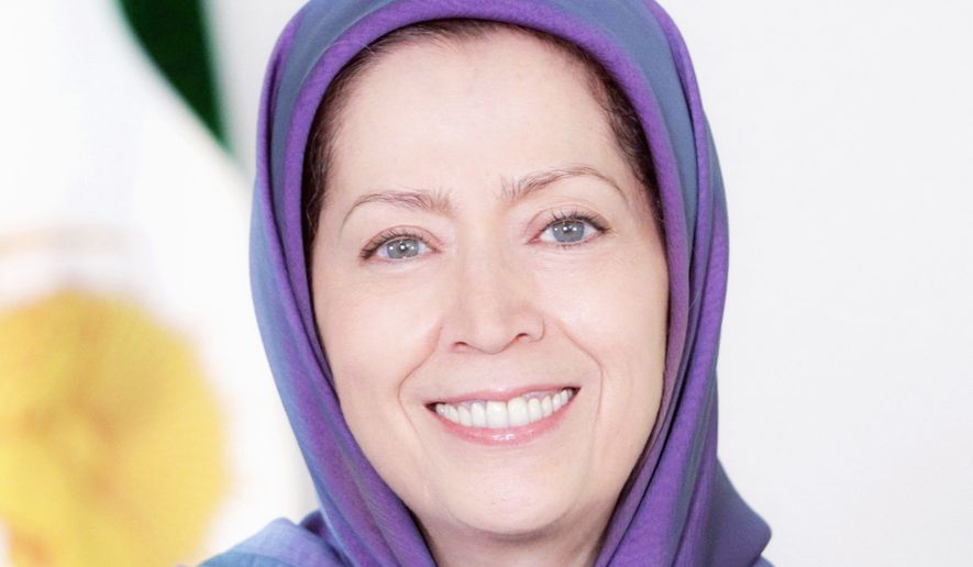 Maryam Rajavi, President-elect of the National Council of Resistance of Iran. (Photo courtesy: NCRI)