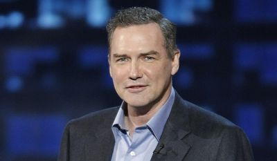 """In this Aug. 3, 2008, file photo, actor and comedian Norm MacDonald is shown at the """"Comedy Central Roast of Bob Saget"""" in Burbank, Calif. (AP Photo/Dan Steinberg, File)"""