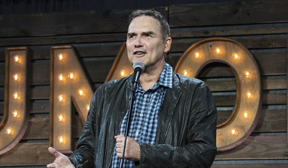 """Norm Macdonald appears at KAABOO 2017 in San Diego on Sept. 16, 2017. Macdonald, a comedian and former cast member on """"Saturday Night Live,"""" died Tuesday, Sept. 14, 2021, after a nine-year battle with cancer that he kept private, according to Brillstein Entertainment Partners, his management firm in Los Angeles. He was 61.  (Photo by Amy Harris/Invision/AP, File)"""