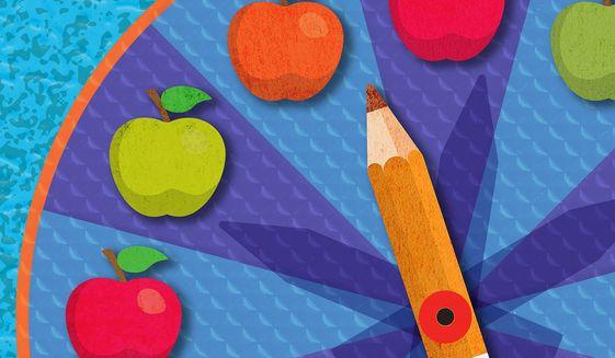 School Choice Momentum and Bad Public Schools Illustration by Greg Groesch/The Washington Times
