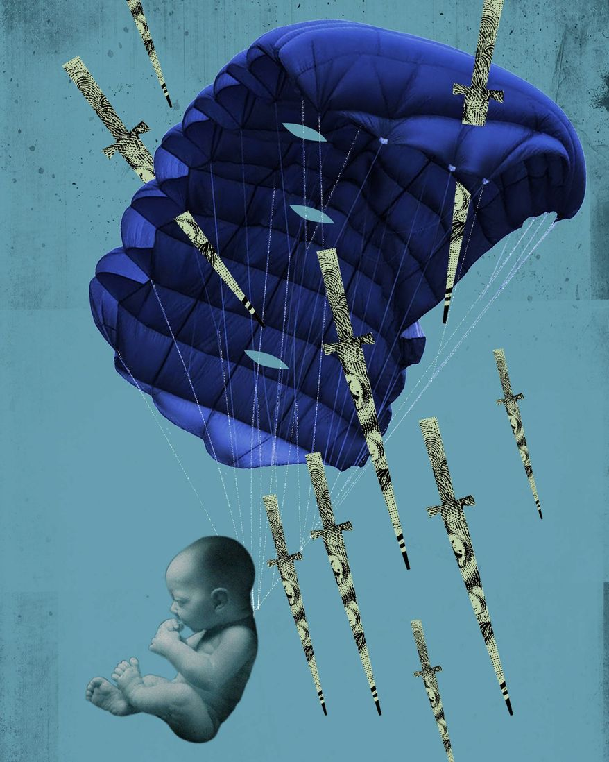 Taxpayer Funding of Abortion Illustration by Linas Garsys/The Washington Times