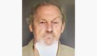 This booking photo provided by the Colleton County Detention Center shows Curtis Edward Smith on Tuesday, Sept. 14, 2021. Smith, was charged with assisted suicide, insurance fraud and several other counts in the Sept. 4 shooting of Alex Murdaugh. (Colleton County Detention Center via AP)