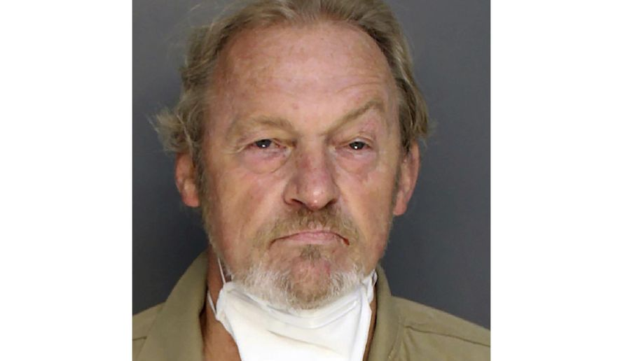 This photo provided by the Colleton County sheriff's office shows Curtis Edward Smith. State police say a prominent South Carolina lawyer tried to arrange his own death this month so his son would get $10 million in life insurance. But authorities say the planned fatal shot only grazed Alex Murdaugh's head on Sept. 4. The State Law Enforcement Division says it charged the shooter, 61-year-old Curtis Edward Smith, with assisted suicide, insurance fraud and several other counts. (Colleton County Sheriffs Office via AP)