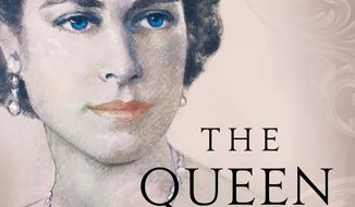 """Book cover, """"The Queen,"""" courtesy of House of Zeus Publishers, London."""