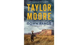Down Range By Taylor Moore (book cover)