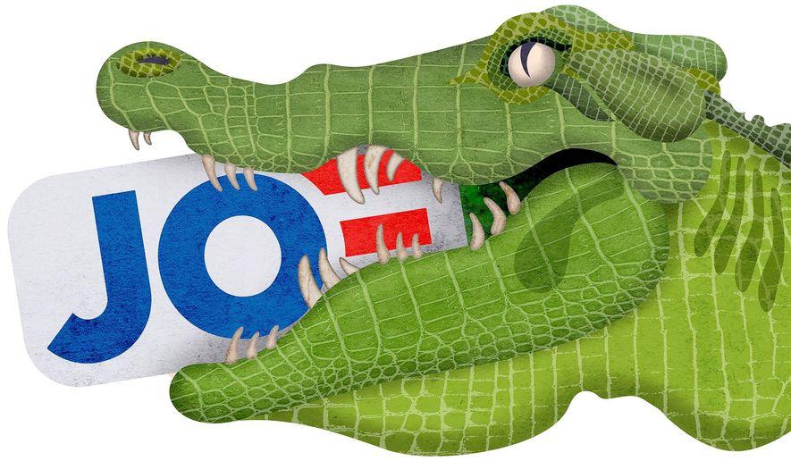 Swamp Master Biden Illustration by Greg Groesch/The Washington Times