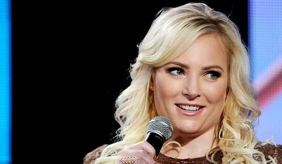 """Meghan McCain, who has left her role on ABC's """"The View"""", has debuted as a columnist for The Daily Mail with a critical take on President Biden. (Chris Pizzello, ASSOCIATED PRESS)"""
