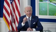 President Joe Biden speaks during a virtual COVID-19 summit during the 76th Session of the United Nations General Assembly, in the South Court Auditorium on the White House campus, Wednesday, Sept. 22, 2021, in Washington. (AP Photo/Evan Vucci)