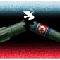 Illustration on North Korean denuclearization and peace by Alexander Hunter/The Washington Times