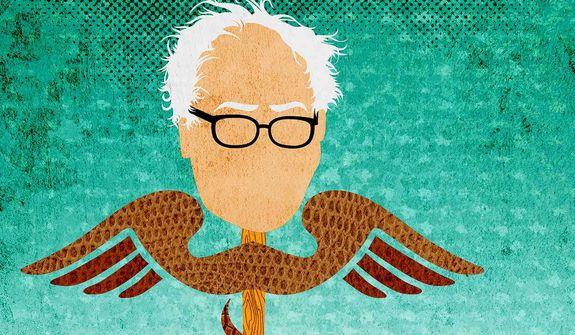 Bernie's Socialist Health Care Illustration by Greg Groesch/The Washington Times
