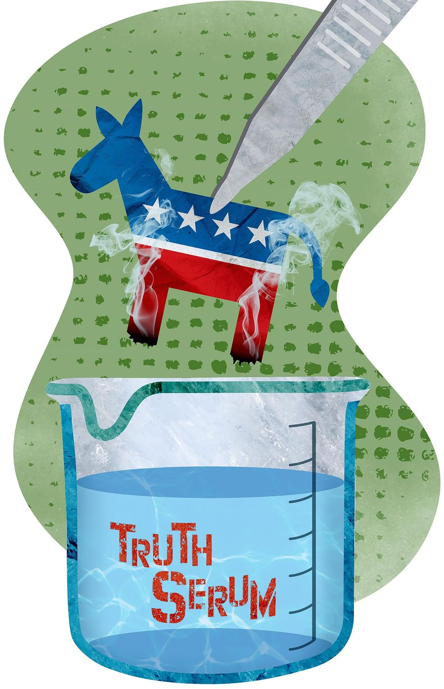 Disingenuous Democrats and Science Illustration by Greg Groesch/The Washington Times