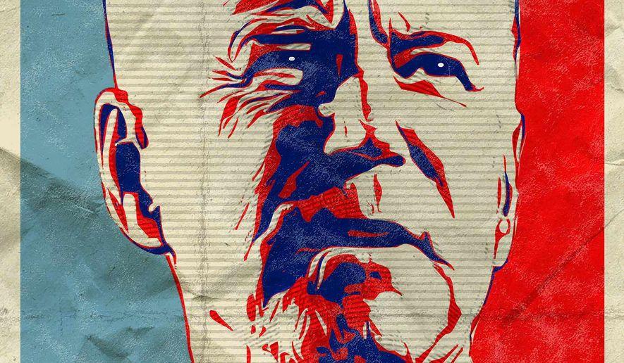 Biden Liar Poster Illustration by Greg Groesch/The Washington Times