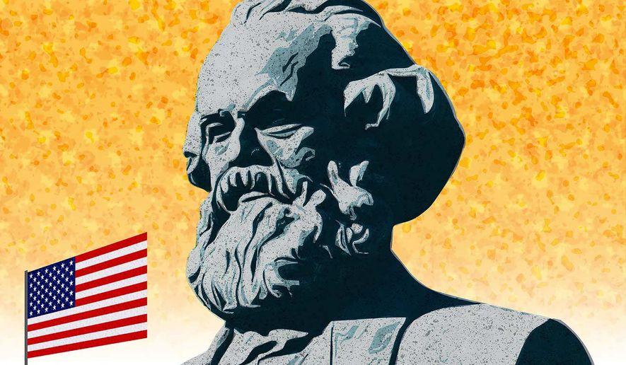 American School Marxism Illustration by Greg Groesch/The Washington Times