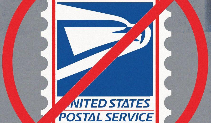 United States Postal Service illustration by Linas Garsys / The Washington Times