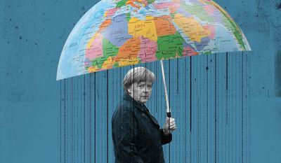 The Legacy of Angela Merkel Illustration by Linas Garsys/The Washington Times