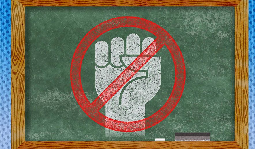 Rejection of Teachers Unions by Parents Illustration by Greg Groesch/The Washington Times