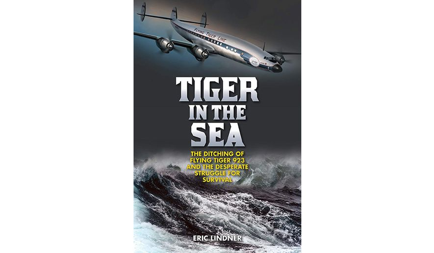 Tiger in the Sea by Eric Lindner (book cover)