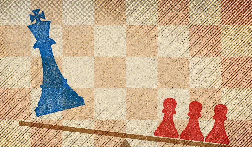 The Left Dethroned by the Masses Illustration by Greg Groesch/The Washington Times