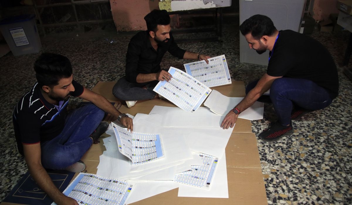 Iraqis go to polls in low numbers; outcome could impact Iran's influence