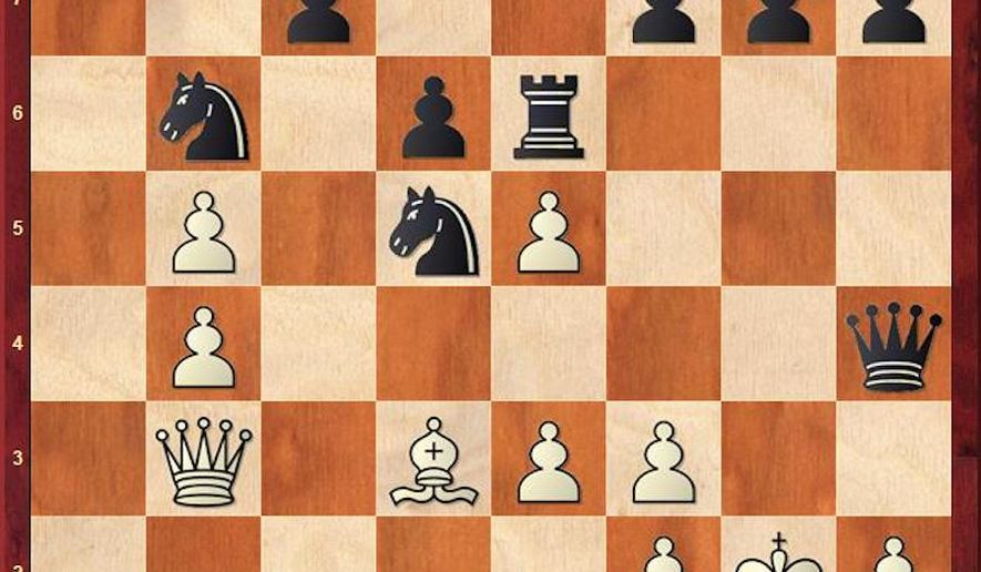 So-Caruana after 19...Re6.