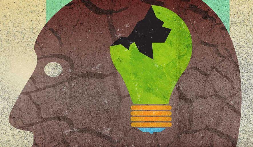 Left's Green Energy Logic Illustration by Greg Groesch/The Washington Times
