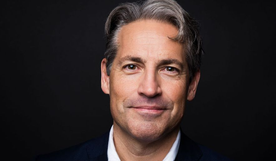 Eric Metaxas, a conservative evangelical Christian and noted biographer, hosts a daily radio talk show. (Image courtesy of Regnery Publishing)