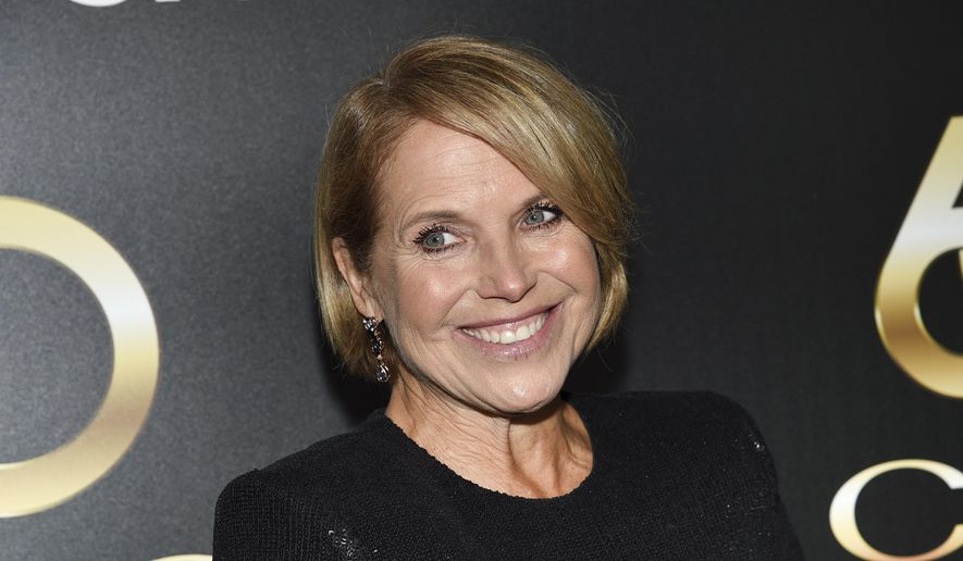 In this Wednesday, Sept. 25, 2019, file photo, television journalist Katie Couric attends the 60th annual Clio Awards at The Manhattan Center in New York. (Photo by Evan Agostini/Invision/AP, File)