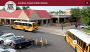 Screen capture taken Oct. 15, 2021, from the website for the Loudoun County (Va.) Public Schools (https://www.lcps.org/)