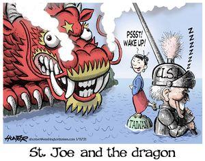 St. Joe and the dragon
