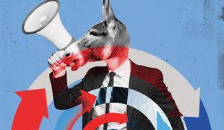 Another Democrat Sham Illustration by Linas Garsys/The Washington Times