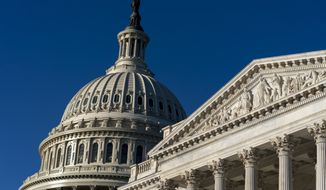 The Dome of the U.S. Capitol is shown in this Thursday, Sept. 30, 2021, file photo from Capitol Hill in Washington, D.C. (AP Photo/Andrew Harnik)