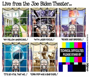 Live from the Joe Biden Theater ...