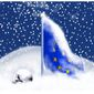 Illustration on European energy and winter by Alexander Hunter/The Washington Times