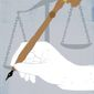 The Writing of Laws Illustration by Linas Garsys/The Washington Times