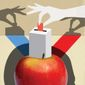 School Board Elections Illustration by Linas Garsys/The Washington Times