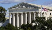 The Supreme Court is seen in Washington, Monday, Oct. 18, 2021. The Biden administration is asking the high court to block the Texas law banning most abortions, while the fight over the measure's constitutionality plays out in the courts. The law has been in effect since September. (AP Photo/J. Scott Applewhite)