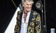 Rod Stewart performs at the New Orleans Jazz and Heritage Festival on  April 28, 2018. A plea deal between Stewart and Florida prosecutors to settle charges he and his adult son Sean battered a security guard at a New Year's Eve party two years ago has fallen through. The pair are now scheduled to stand trial on misdemeanor battery charges in January. (Photo by Amy Harris/Invision/AP, File)  **FILE**