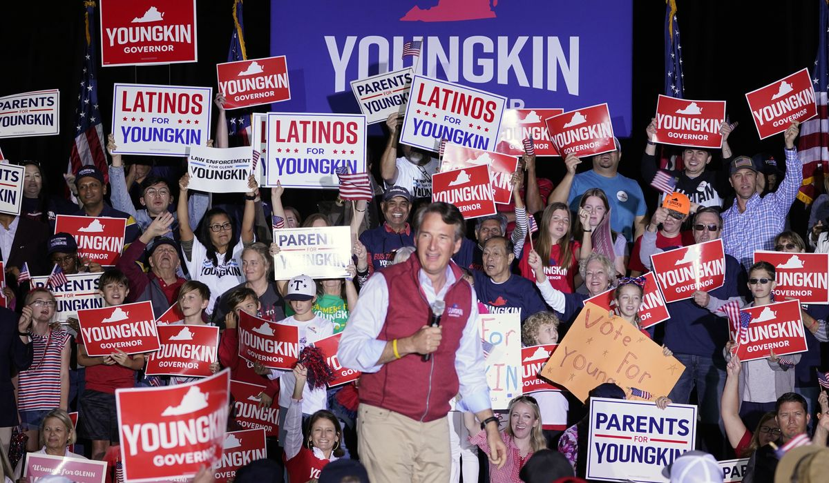 Youngkin goes solo, McAuliffe leans on surrogates in the home stretch of Va.  Governor's race