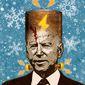Snow Job Joe and his renewable energy plan Illustration by Greg Groesch/The Washington Times