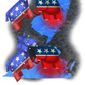 Illustrations on elections in New Jersey and Virginia by Alexander Hunter/The Washington Times