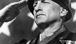 "Associated Press George C. Scott, from the movie ""Patton"""