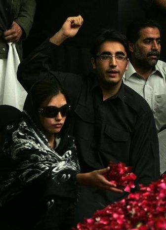 ** FILE ** Bilawal Bhutto Zardari, the 19-year-old son of Pakistan's slain opposition leader Benazir Bhutto, confided to friends in 2008 that he was not ready to take up his mother's political reins. (Associated Press)