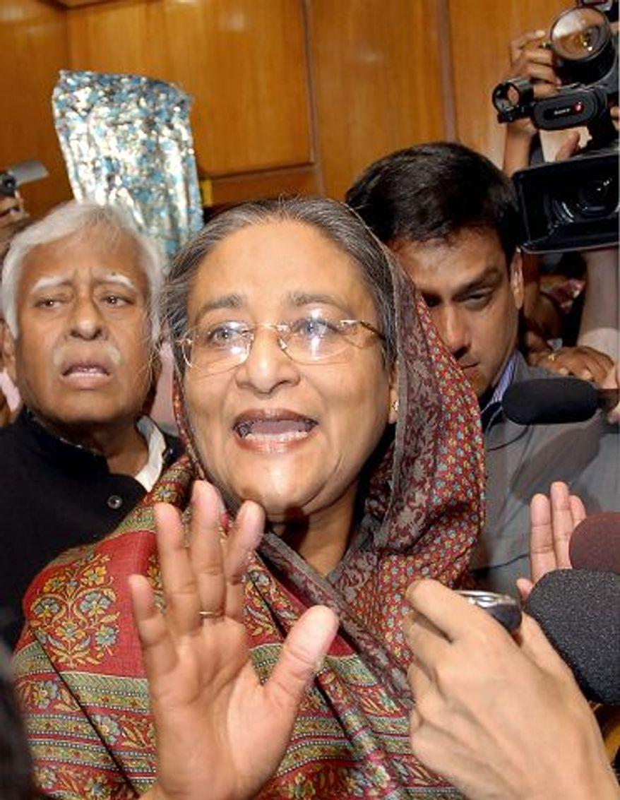 Bangladeshi Prime Minister Sheikh Hasina