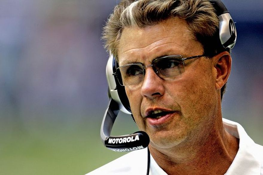 Assistant head coach-defense Gregg Williams is expected to be the top in-house candidate to replace Joe Gibbs. (Peter Lockley/The Washington Times)